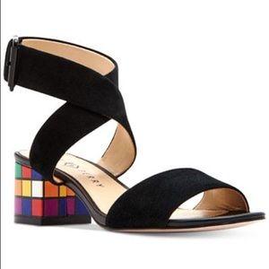 Katy perry the Margot rubix cube block heels